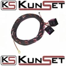 Жгут для подключения электрорегулировки передних сидений и поясничного упора AUDI A4 8E